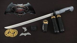 Batman v Superman Batman Deluxe Combat Sword Set from Thinkway Toys