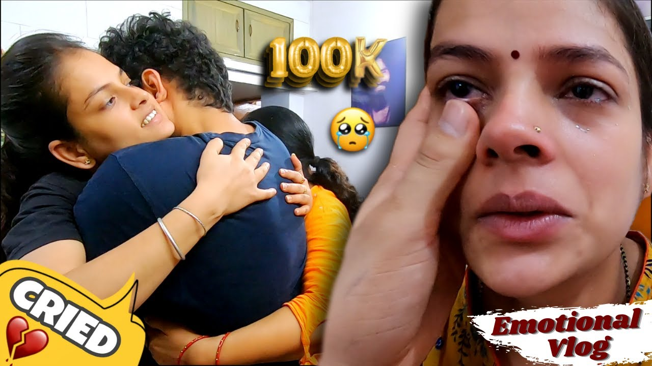 GOT EMOTIONAL 😣😣   100K Celebration Gone Emotional   Beast Vloggers