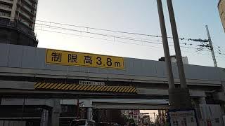 【激レア編成】東急8500系8637F「青帯・ドアカラフル・Bunkamura号」竹ノ塚付近高架走行(第37踏切)