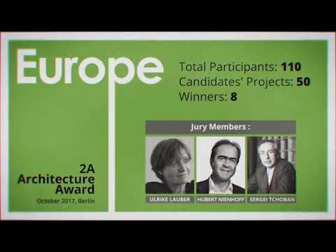 2A Europe Architecture Award 2017 - Berlin, Germany