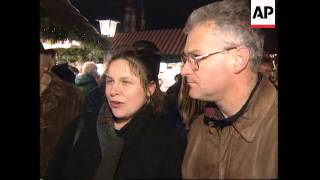Germany: Forchheim/nuernberg: Preparations For Christmas