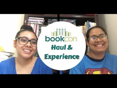 BookCon 2017 Haul & Experience| Tangled Up in Books