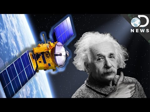 An Unusual Way To Prove Einstein's Theory Of Relativity