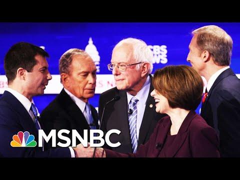 Sanders, Bloomberg Take