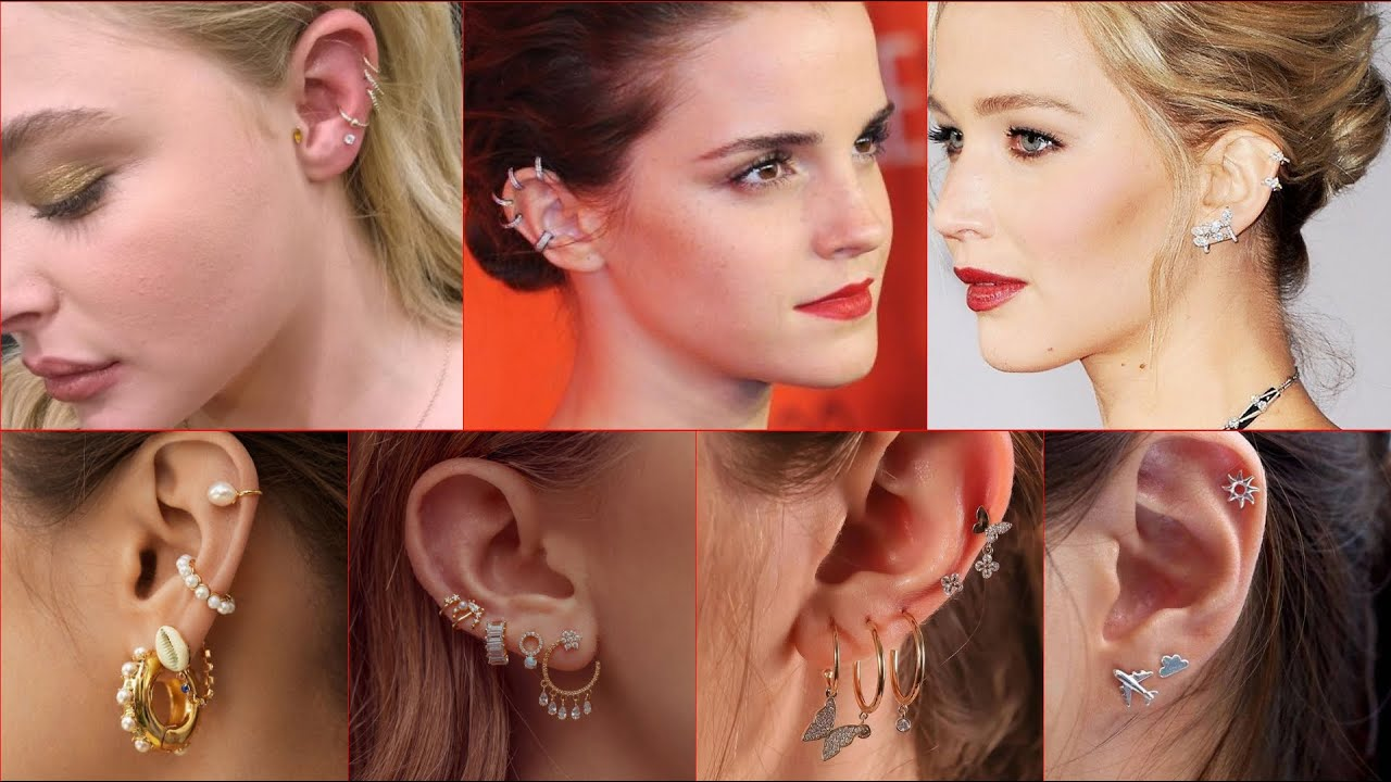 Most Stunning Stylish Ear Piercing Ideas For Young Girls
