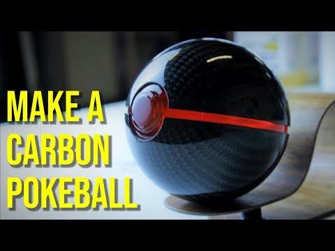 Carbon Fiber Pokeball - How It's Made (Pokemon)