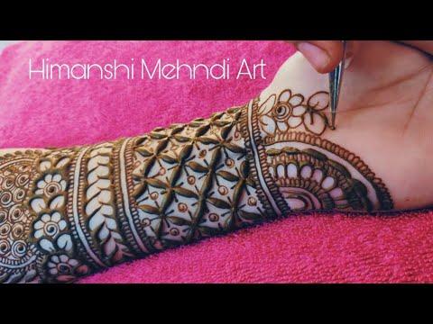 Bridal Style Mehndi Design | Henna Design | 2020 | - Himanshi's Mehendi Art