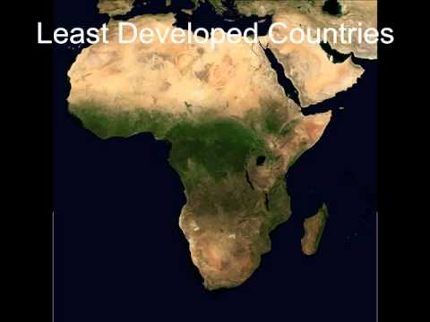 Developed And Undeveloped Countries In The World Part Africa - Top 10 underdeveloped countries