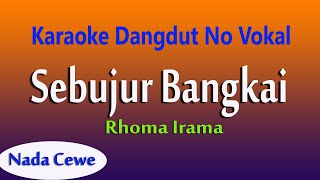 Sebujur Bangkai - Rhoma Irama Nada Cewe - Karaoke Dangdut No Vokal