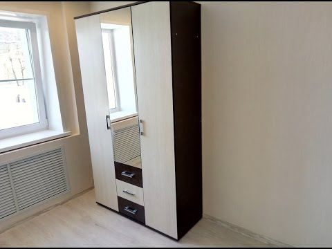 "Сборка шкафа 3 дверного  ""Белла"" . BTS мебель"
