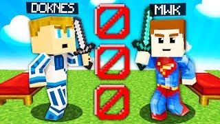 MWK vs DOKNES - 1 VS 1 na BEDWARS w MINECRAFT!