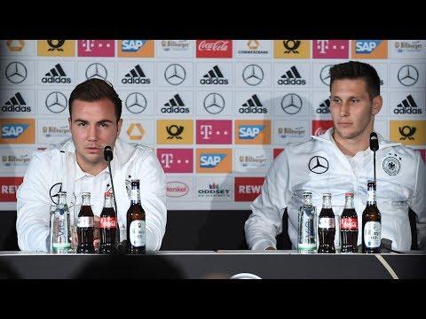 Highlights der PK mit Mario Götze und Niklas Süle