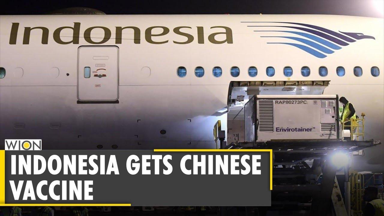 Indonesia Gets 1 2 Mn Doses Of China Made Covid 19 Vaccine Sinovac Biotech World News Youtube