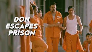 Don Escapes Prison   Don 2   Shah Rukh Khan   Boman Irani   Farhan Akhtar