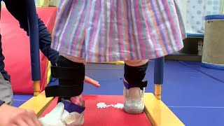 Little Girl Learns to Walk with Baby Shark Song | This & More Heart-Warming Stories