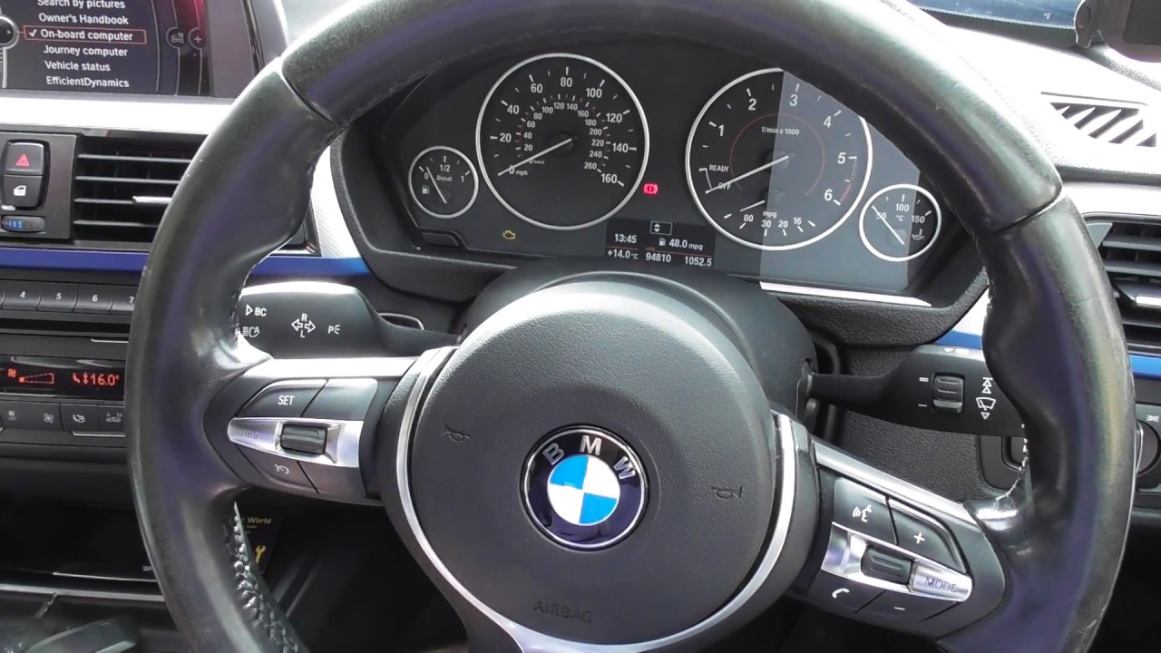 HOW TO: BMW F30 F31 EASY Service Update Procedure Including iDrive