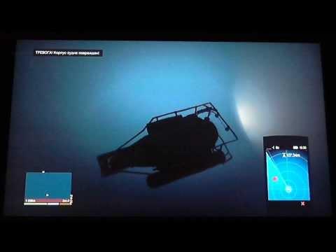 Grand Theft Auto 5 - путешествие на глубину океана с Толяном часть1
