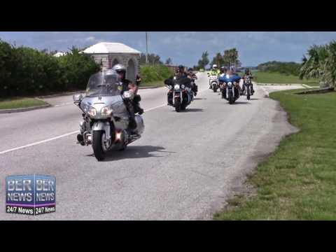 ETA Motorcycle Cruises In Bermuda, May 11 2016