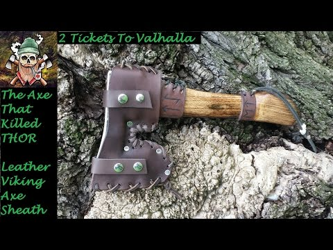 Do it Yourself Leather Viking Axe Sheath