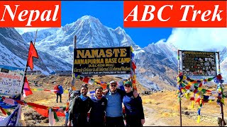 Annapurna Base Camp (ABC) - The Most Popular Trek in Nepal | A Complete Trekking Details