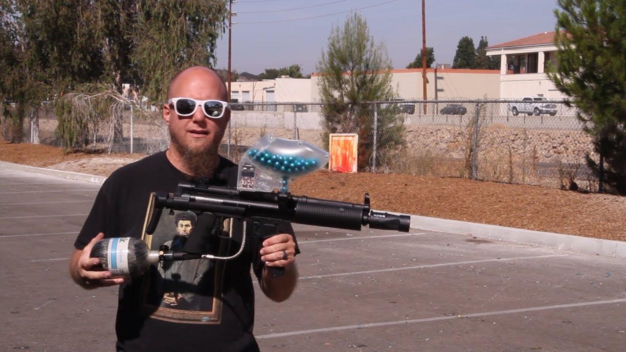 Empire Delta Elite Legendary Paintball Gun Package Kit