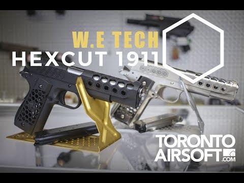 WE-Tech 1911 Hex Cut Gen.2 GBB Pistol Review  -TorontoAirsoft.com