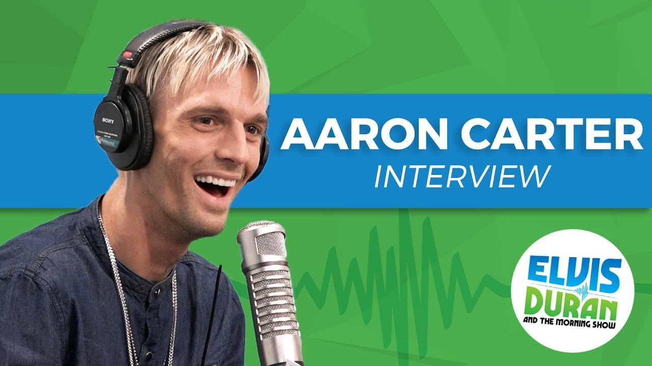 Aaron Carter reveals he 'can't live a lie anymore