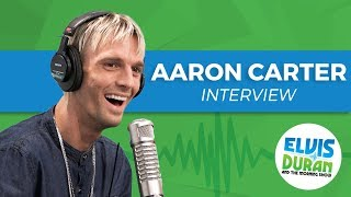 Aaron Carter Opens Up About Negative Comments on Social Media | Elvis Duran Show