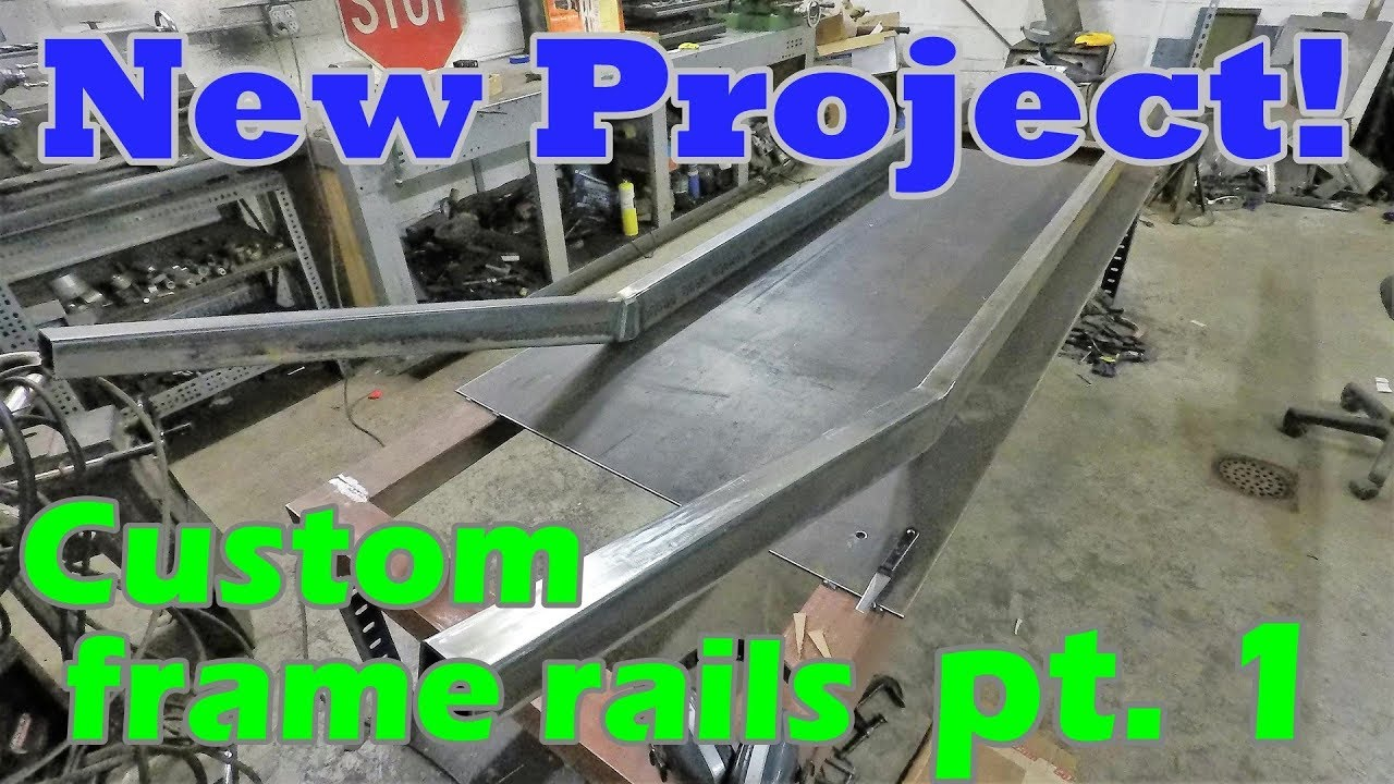 Building Custom Frame Rails | Boat-tail Speedster Pt  1