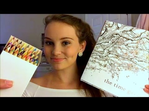 Color With Me! ASMR 1 HOUR of Relaxing Story Time/Coloring