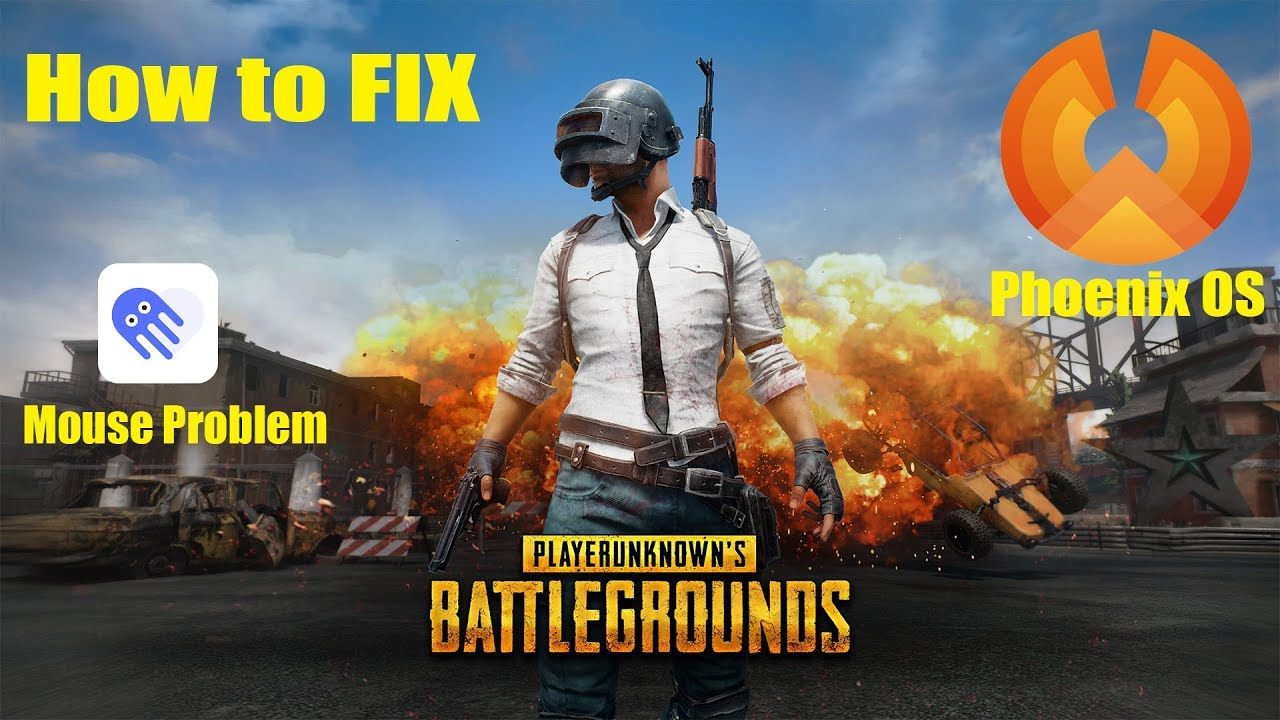How to FIX mouse problem for PUBG MOBILE in Phoenix OS