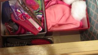 How I Store My American Girl Doll Clothing & Accessories ~ Pt 1