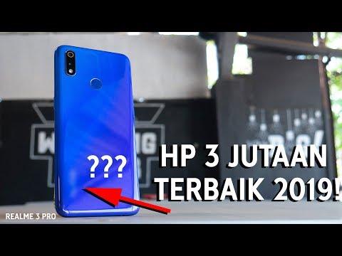 HP 3 Jutaan Terbaik 2019! Kamera & Peforma Kencang - Review Realme 3 Pro