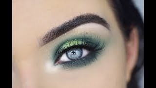 Green St. Patrick's Day Eye Makeup Tutorial | Morphe 35B