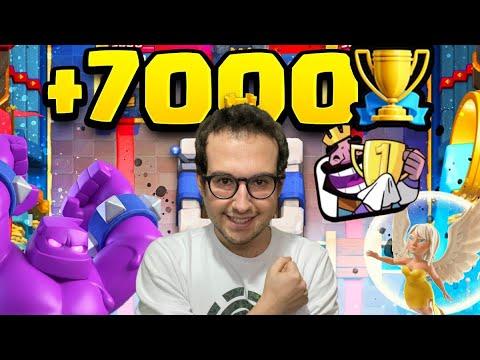 INCREDIBILE!! Sono riuscito ad arrivare a 7000 COPPE!! Partite molto tese!! -Clash Royale