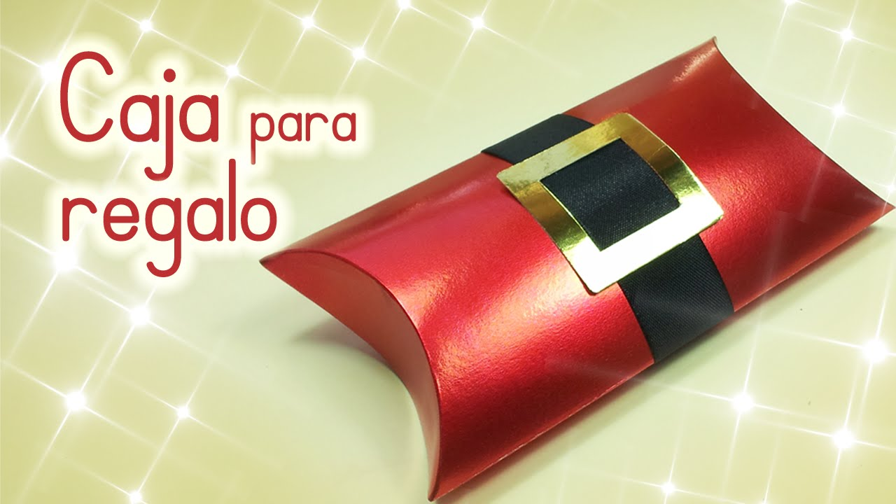 Manualidades para Navidad CAJA para REGALO navidea Innova