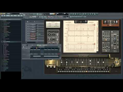 VST Sugar bytes gitarist test, example #3  ( FL Studio )