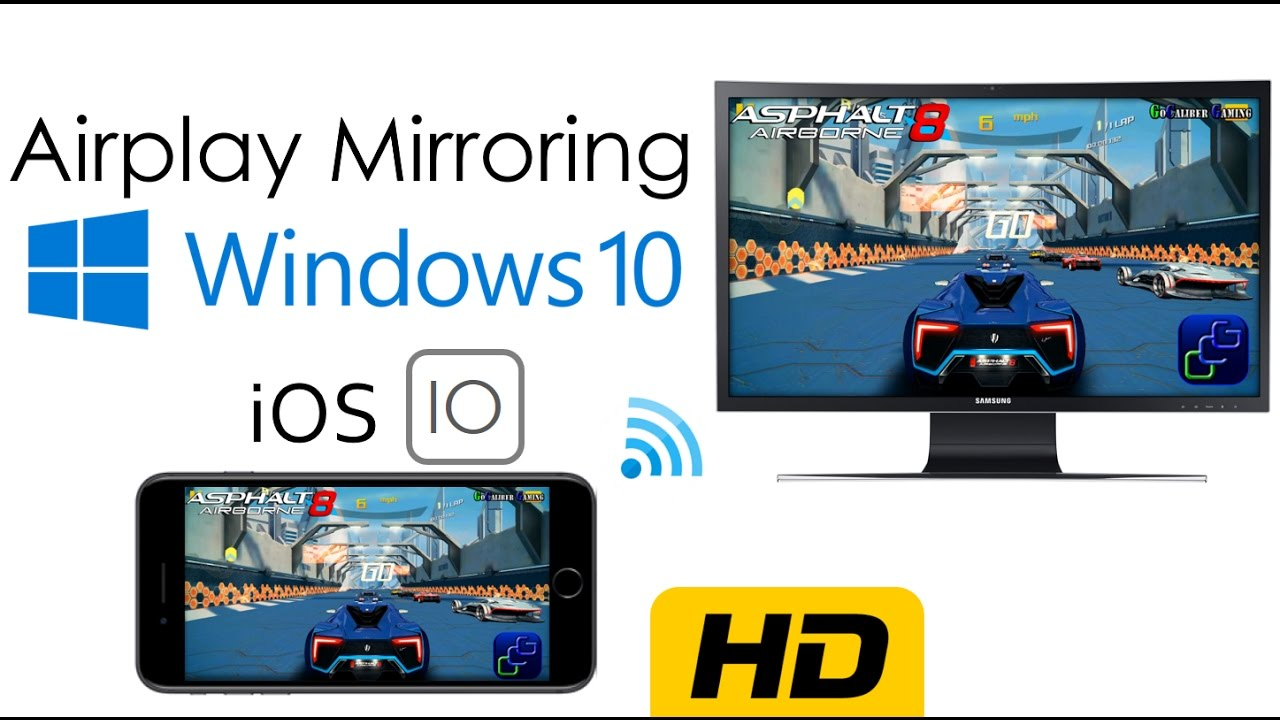 How to enable AirPlay Mirroring on Windows | No Paid Software, No Cables |  iOS 12 x UPDATED