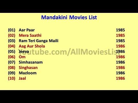 Mandakini Movies List
