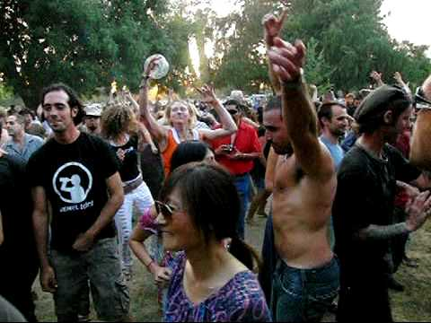 High Speed Camera : Psy Trance Party in Super Slow Motion (2009) Green Sector, Los Angeles
