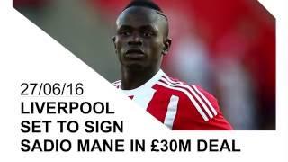 Liverpoo set to sign Southampton superstar Sadio Mane for £30mil | Transfer Talk