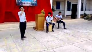 Đôi chân trần guitar cover-THPT N.T.Minh.Khai