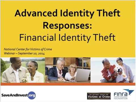 Advanced Identity Theft Responses
