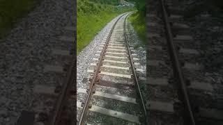 정선아리랑열차 뒷 풍경