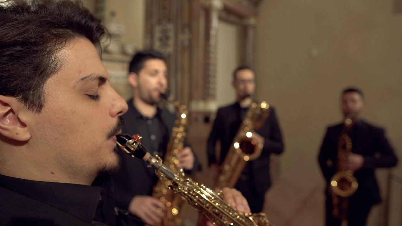 "A. Vivaldi, Trio Sonata op. 1 no. 12 RV 63 ""La Follia"" - Cilea Saxophone Quartet"