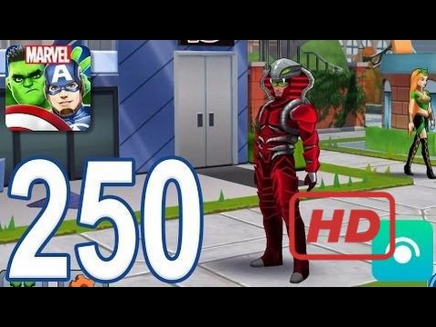 MARVEL Avengers Academy - Gameplay Walkthrough Part 250 - Level 31, Serpent Crown Falcon  #FEA