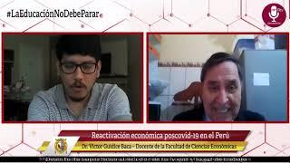 Tema: Reactivación económica poscovid-19 en el Perú.