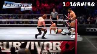 WWE 13 MACHINIMA - WWE Survivor Series 2012 Full PPV & Preview Show