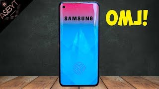 Galaxy S10 - SAMSUNG GOING ALL OUT!!!