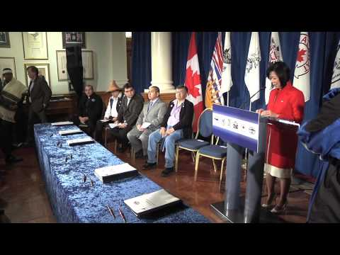 New Agreements For Five Vancouver Island First Nations